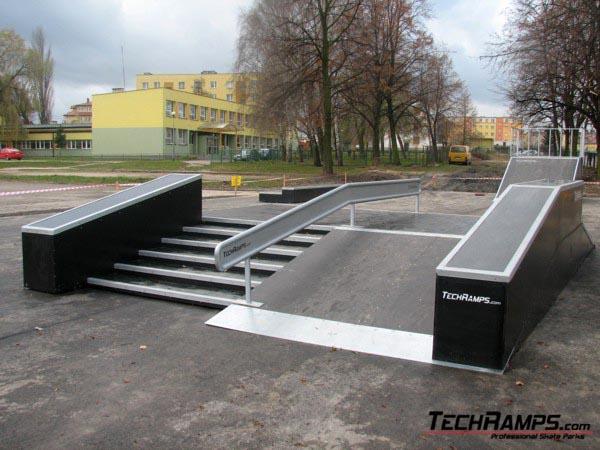 Skatepark w Warce