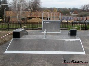 Skatepark w Warce - 1