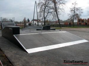 Skatepark w Warce - 6