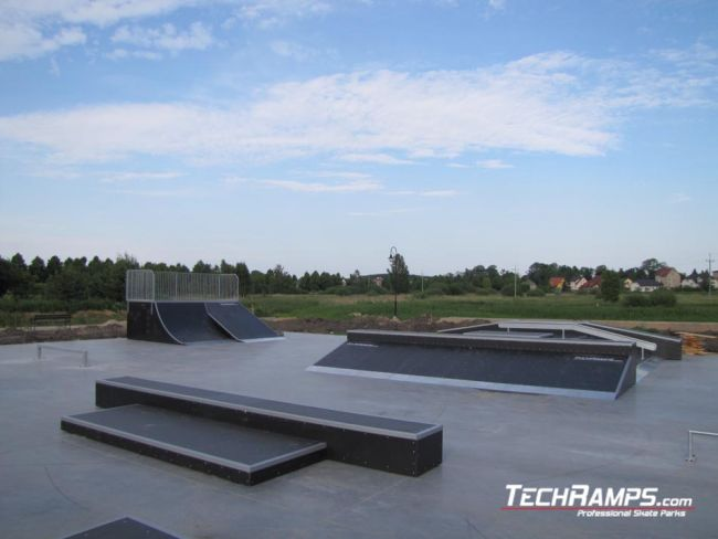 Skatepark w Węgorzewie