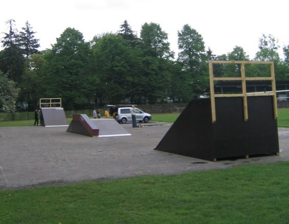Skatepark w Wieluniu