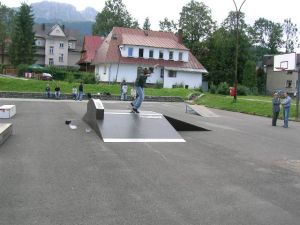 Skatepark w Zakopanem 2