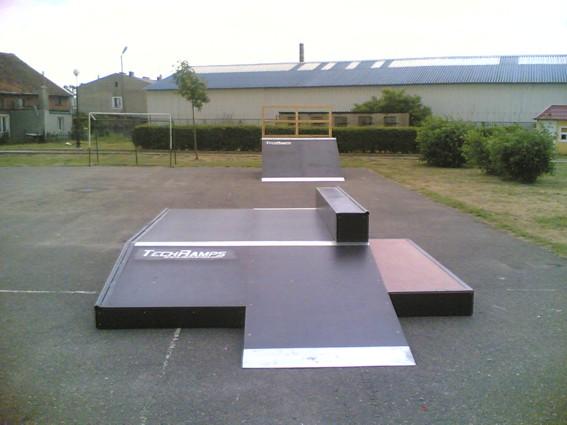 Skatepark w Zalewie