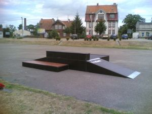 Skatepark w Zalewie 1