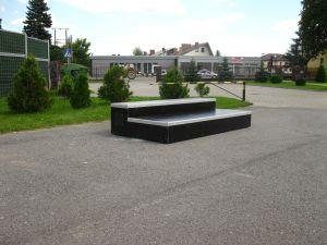 Skatepark w Zgłobice grindbox