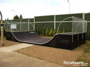 Skatepark w Zgłobice Minirampa
