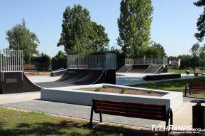 Skatepark w Zgorzelcu  minirampa