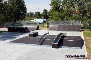 Skatepark w Zgorzelcu panorama