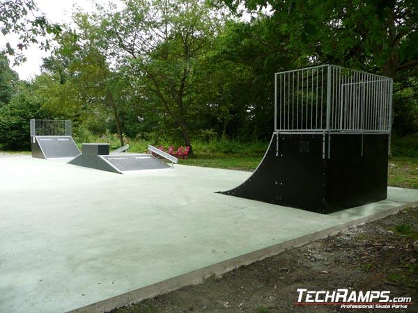 Skatepark w Zuii - Hiszpania