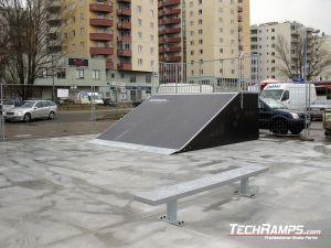 Skatepark Warszawa Bemowo Bank ramp