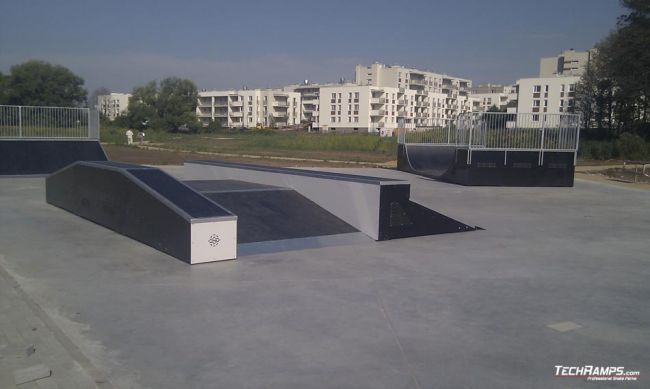 Skatepark Warszawa - Bialoleka