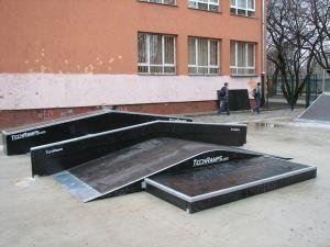 Skatepark Warszawa-Bielany - 3