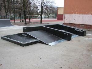 Skatepark Warszawa-Bielany - 4