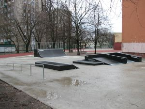 Skatepark Warszawa-Bielany - 8