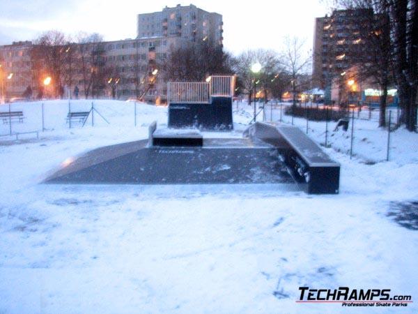 Skatepark Warszawa-Targowek