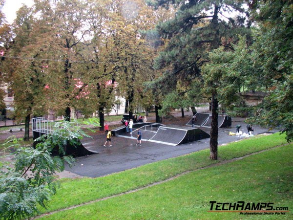 Skatepark we Lwowie - Ukraina