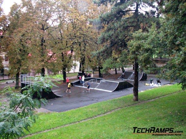 Skatepark we Lwowie - Ukraina