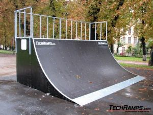 Skatepark we Lwowie - Ukraina - 1
