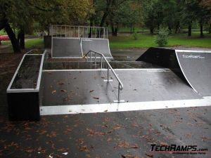 Skatepark we Lwowie - Ukraina - 2