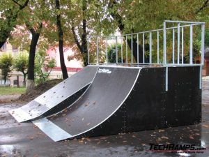 Skatepark we Lwowie - Ukraina - 4