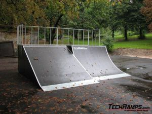 Skatepark we Lwowie - Ukraina - 9