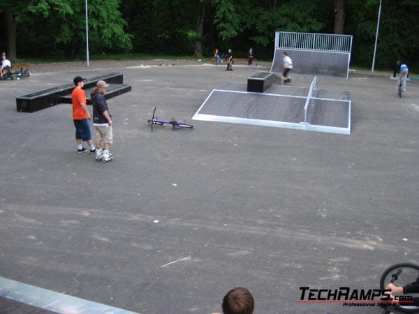 Skatepark Winnice - Ukraina