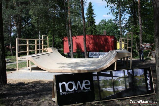 Skatepark Woodcamp 2010, Przysucha