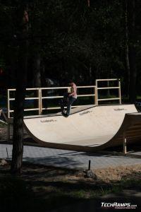 Skatepark Woodcamp 2010, Przysucha - 1