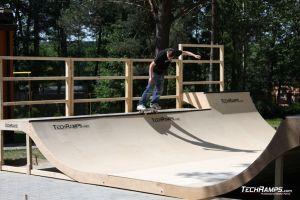 Skatepark Woodcamp 2010, Przysucha - 12