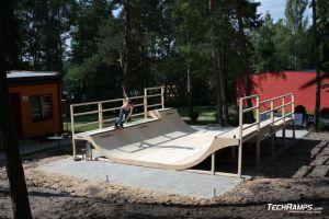 Skatepark Woodcamp 2010, Przysucha - 14