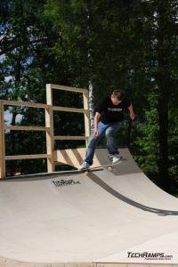 Skatepark Woodcamp 2010, Przysucha - 3
