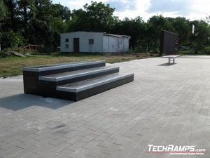 Skatepark Wschowa grindbox
