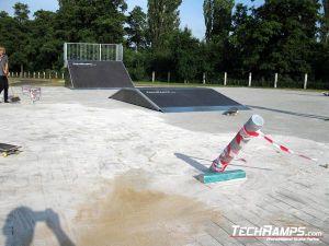 Skatepark Wschowa pole jam