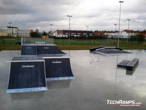 Skatepark  Wyszkow panorama
