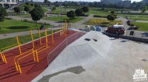 Skatepark z betonu