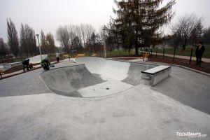 Skateplaza betonowa