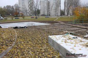 Skateplaza Kielce - budowa - 1