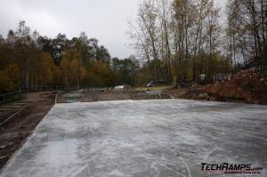 Skateplaza Kielce - budowa - 2