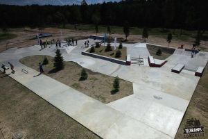 Skateplaza na Woodcamp