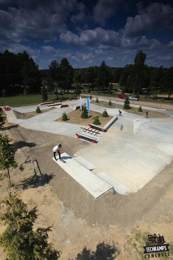 Skateplaza na Woodcamp