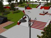 Skateplaza- skatepark Kraków Mistrzejowice - soon