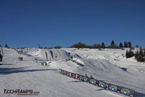 Snow park Witów Ski 2010 Budowa Techramps