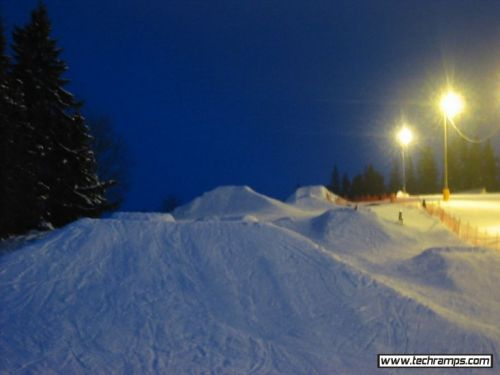 Snowpark in Białka 2004