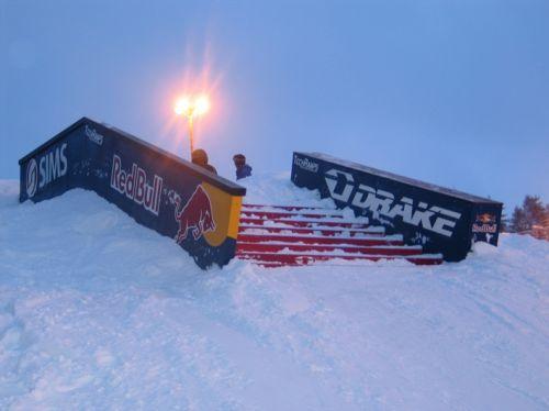 Snowpark in Białka 2005