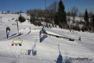 Snowpark Witów Ski 2010 Budowa Techramps