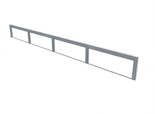 Straight rail - profile []