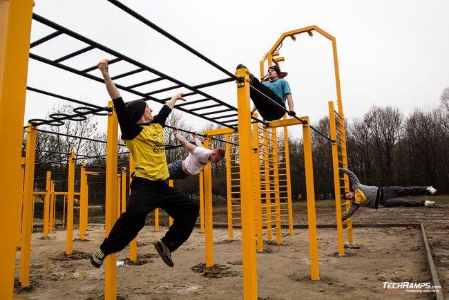 Street Workout Park Warszawa WAT