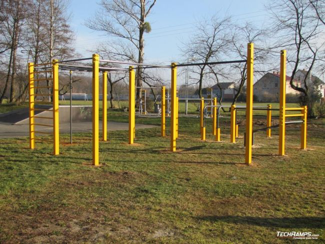 Street Workout Park Zdzieszowice