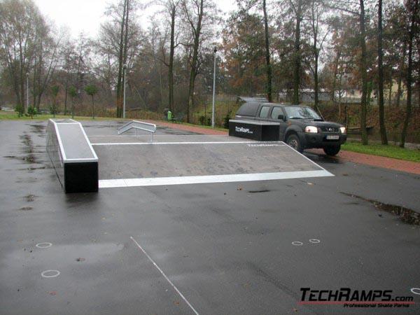 Скејтпарк во Szczercow