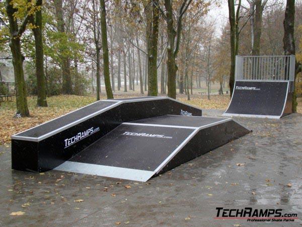 Скејтпарк во Tarnowo Podgorne